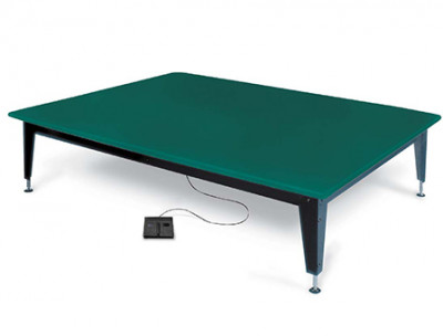 Hausmann 1427 Bariatric Electric Mat Platform W/ 750 Lb. Weight Capacity. 7' (L) X 5' (W) X 20-30