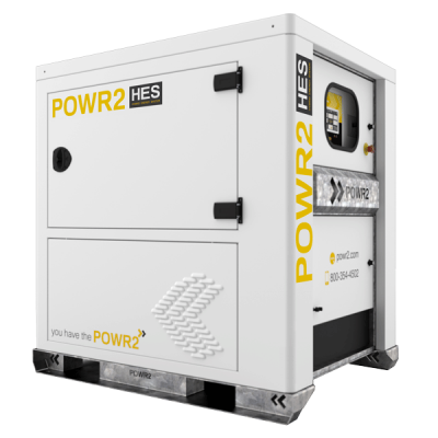 15KVA Hybrid Energy System with 30KWH or Battery Storage