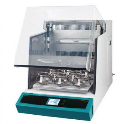 Jeio Tech IST-3075 Series Incubated Shaker 1.9 Cu ft. Heating Universal with full set 500ml Flask Clamps