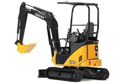 John Deere 17D Mini Excavator 7' 1
