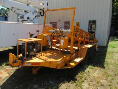 Rengo PL39 4 Drum Puller Utility Trailer