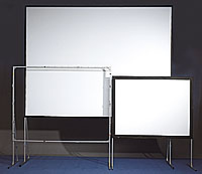 "AV Stumpfl 24'x 13'7"" Fast Fold Projection Screen"