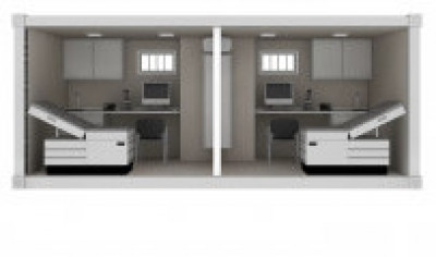 Mobile Medical Exam Room Rentals And Leases | KWIPPED