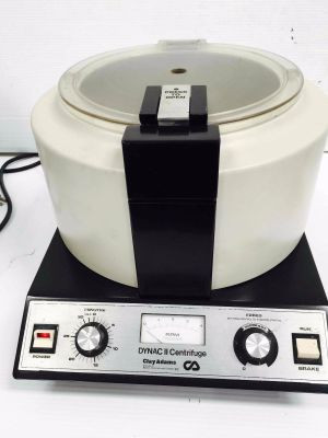 Clay Adams Dynac II Benchtop Centrifuge with Rotor set-up