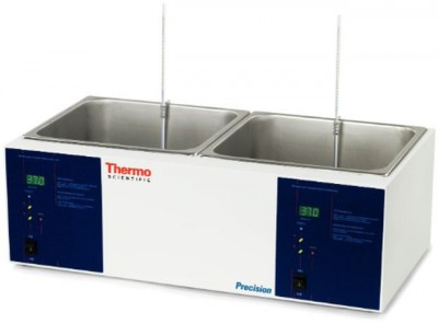 Thermo Precision General-Purpose Water Bath, 12L, Analog, Dual Chamber