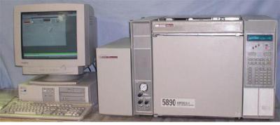 Hewlett Packard 5890/5971 GC/MS System