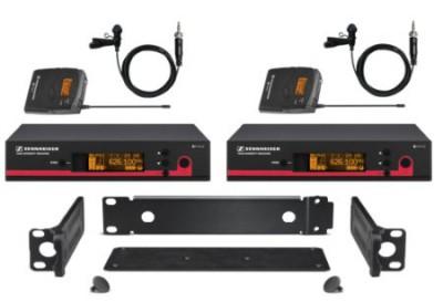 Sennheiser G3 Dual Combo Rack System
