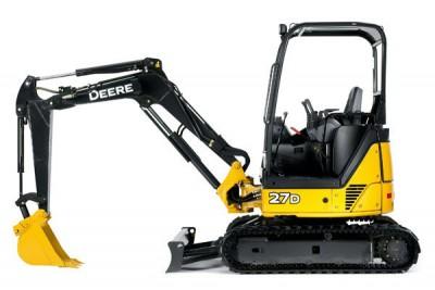 John Deere 27D Mini Excavator 8' 6