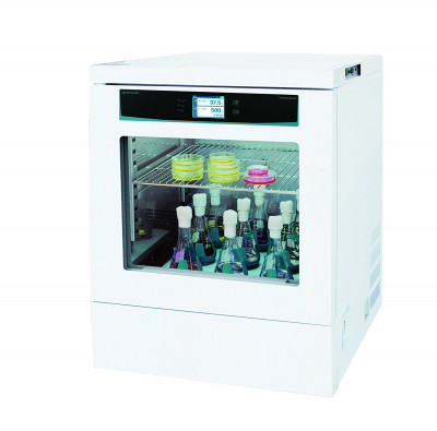 ISS Series Incubated Shaker 2.8 Cu ft. Heating with Universal Platform with full set 500 mL flask clamps