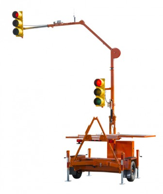 Horizon SQ3 Portable Traffic Signal