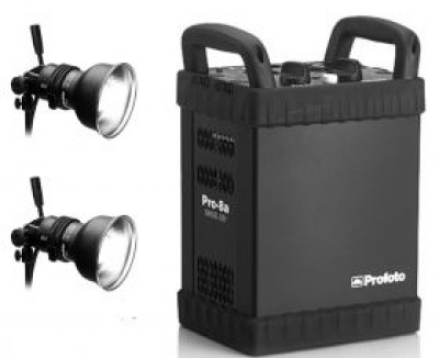 Profoto Pro 8A 2400 2 Head Outfit Battery Generator