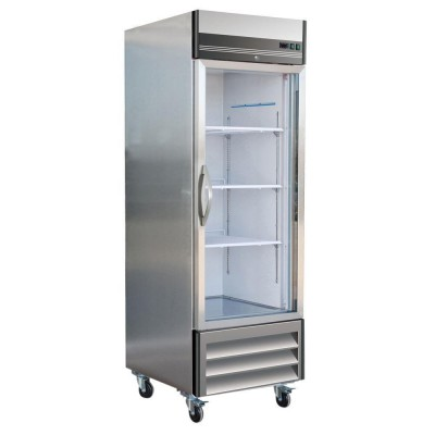 So-Low Laboratory and Pharmacy Refrigerator - Stainless Steel (Single Glass Door) (27 cu ft)
