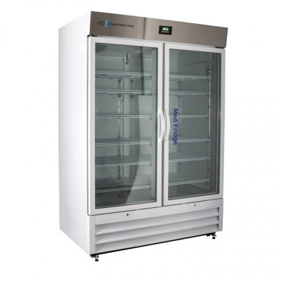 ABS Premier Pharmacy Standard Glass And Solid Door Laboratory Refrigerator. 36 Cu Ft.