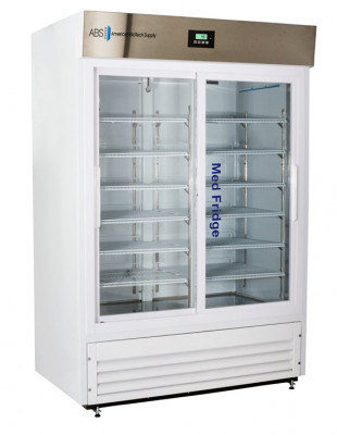 ABS Premier Pharmacy Standard Glass And Solid Door Laboratory Refrigerator. 47 Cu Ft.