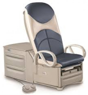 BREWER ACCESS™ HIGH-LOW EXAM TABLE 700 W/ POWER BACK & 700LB CAPACITY with CAL-133 Upholstery