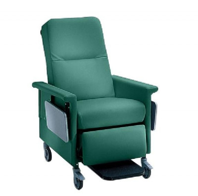 CHAMPION MANUFACTURING MEDICAL 54P TRANSPORT POWER RECLINER W/ PUSH HANDLE