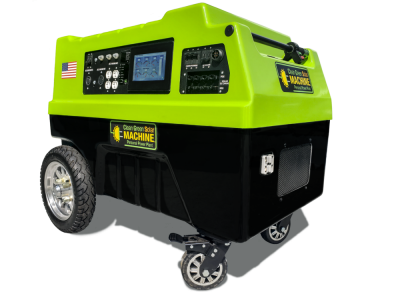 "Clean Green Solar Machine (12kWh Battery Storage) ""Inlighten"" Personal Power Plant"