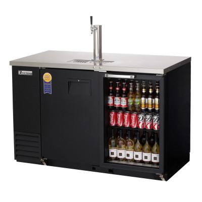 Everest EBD2-BBG-24 2 Door (1 glass) Back Bar & Beer Dispenser, 58