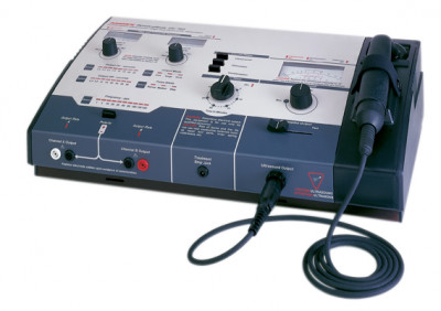 FEI 13-3155C Amrex Ultrasound/Stim Combo - US/752 (High Volt), 1.0 and 3.3 MHz with 5 cm and 10 cm head and QuickConnect Transducer