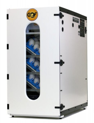 GQF Digital Egg Sportsman Incubator and Hatcher with Water Reserve System, Universal Plastic Egg Trays, and Digital Thermostat