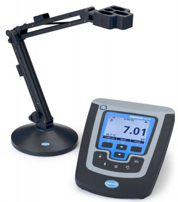 Hach HQ440d Benchtop Meter Package with LBOD101 Dissolved Oxygen Probe for BOD Measurement