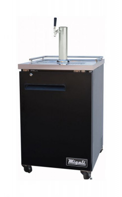 Migali C-DD23-1-HC 1 Door Kegerator