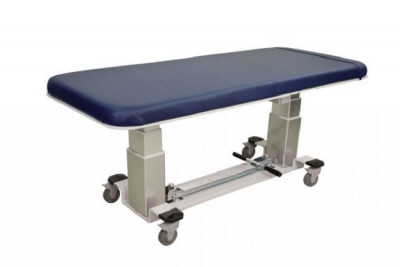 Oakworks 1 Section General Ultrasound Table W/ Central Base Locking System & Side Rails