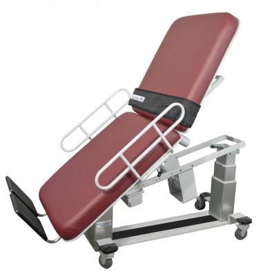 Oakworks 64219 Ultrasound Vascular Table W/ Fowler W/ Central Base Locking System