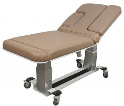 Oakworks Echocardiography Table W/ 550 lb Weight Capacity W/ Central Base Locking System