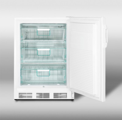 SUMMIT APPLIANCE PROFESSIONAL ALF620 COUNTER-HEIGHT 4.0 CU. FT. ALL-FREEZER W/ MANUAL DEFROST