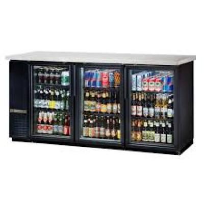 True TBB-24-72G-HC-LD Back Bar Commercial Refrigerator