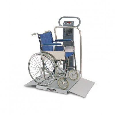 Welch Allyn 6702 Series Oversize Wheelchair Scales in Standard Weight with Printers