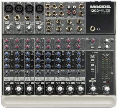 Mackie 1202-VLZ3 Premium 12-Channel Compact Mixer