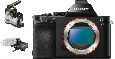 Sony Alpha A7S Mirrorless Camera Package