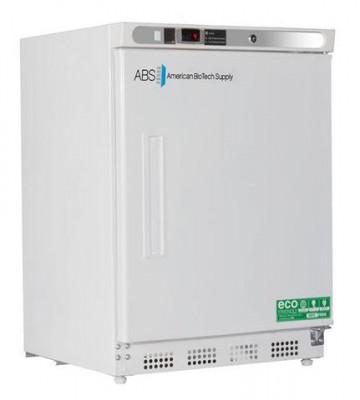 American BioTech Supply Premier Undercounter Refrigerator (4.6 cu ft) (Solid Door) (Left Hinge)