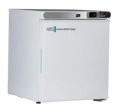 American BioTech Supply Premier Undercounter Refrigerator (1 cu ft) (Solid Door) (Right Hinge)