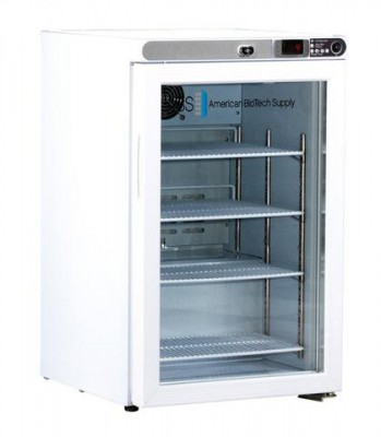American BioTech Supply Premier Undercounter Refrigerator (2.5 cu ft) (Glass Door) (Right Hinge)