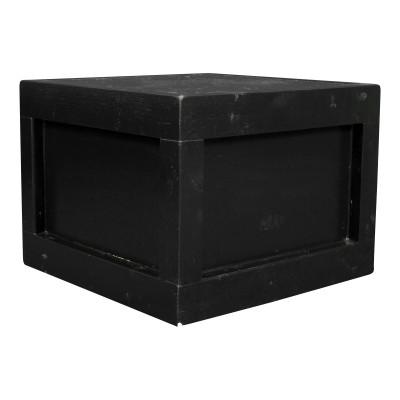 Black Platform Box