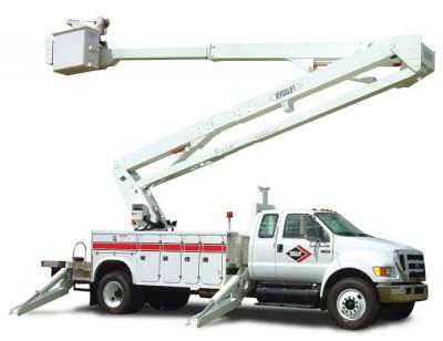Aerial Truck rentals