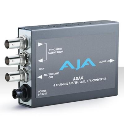 AJA ADA4 4-Channel Bi-Directional Audio Converter