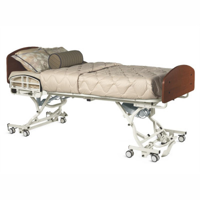 Alterra High-Low Trendelenburg Hospital Bed & Rails-500 Lb Cap
