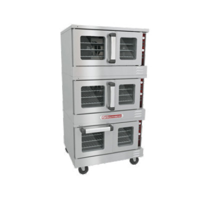 Southbend TruVection TVES/30SC Triple Deck Electric Convection Oven | 208/240 Volt