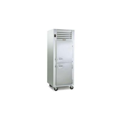Traulsen Dealer's Choice G10000 2-Half Solid Doors Top Mount Reach-In Refrigerator | 24.2 cu ft