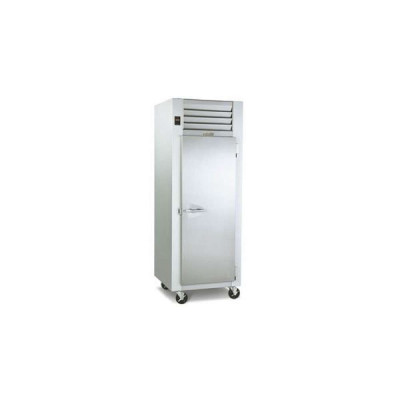 Traulsen Dealer's Choice G10010 1-Solid Door Top Mount Reach-In Refrigerator | 24.2 cu ft