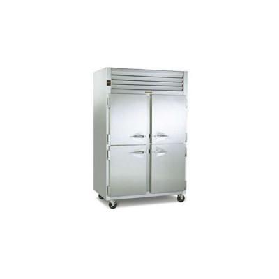 Traulsen Dealer's Choice G20000 4-Half Solid Doors Top Mount Reach-In Refrigerator | 46 cu ft