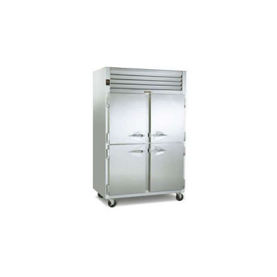 Traulsen Dealer's Choice G22000 4 Half Door Top Mount Reach-In Freezer | 46 Cu. Ft.