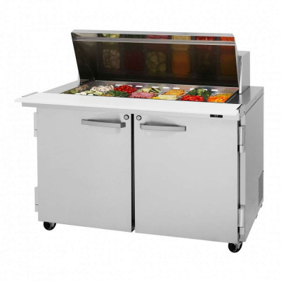 Turbo Air PST-48-18-N Refrigerated Counter Mega Top Sandwich / Salad Unit | 18 Pans