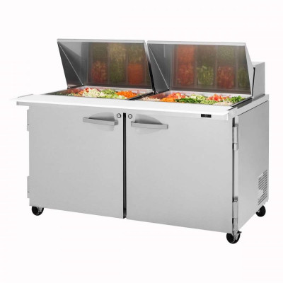 Turbo Air PST-60-24-N Refrigerated Counter Mega Top Sandwich / Salad Unit | 24 Pans