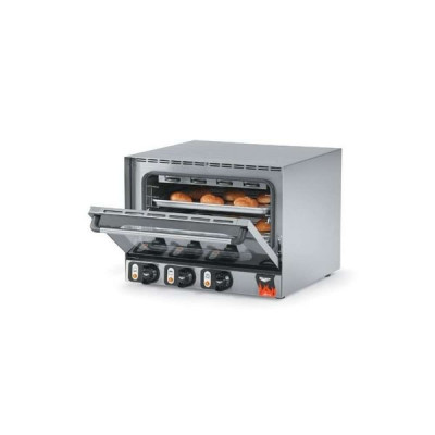 Vollrath Proton 40701 Single Deck Electric Convection Oven | 220 Volts, Half Size