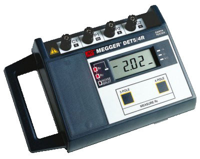 Avo Biddle Megger Multi Amp Det 5 4r Digital Ground Resistance Tester From 63 85 Mo